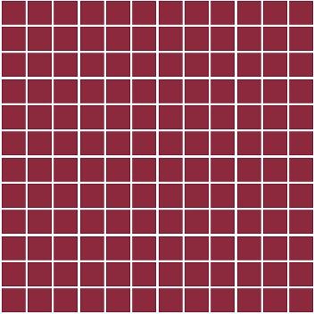 Плитка мозаика Темари Плитка настенная бордо матовый (мозаика) 20076 29