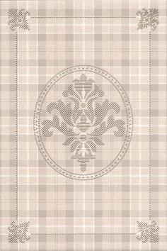 Керамическая плитка Традиция Декор Клетка AD B178 8236 20×30