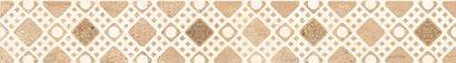 Керамическая плитка Tuti бордюр бежевый (TG1M011DT) 5×35