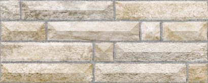 Керамическая плитка Вавилон 3 Плитка настенная бежевый 20×50