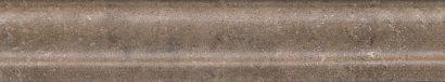 Керамическая плитка Виченца Бордюр Багет коричневый BLD016 15×3