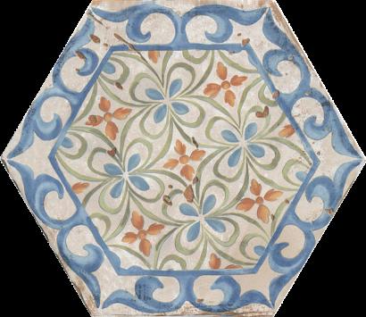 Керамическая плитка Виченца Декор напольный Майолика HGD A159 SG23000 20×23