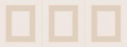 Керамическая плитка Вилланелла Декор Геометрия беж MLD B68 15084 15×40