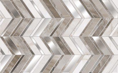 Керамическая плитка Аника Декор бежевый 01 25×40