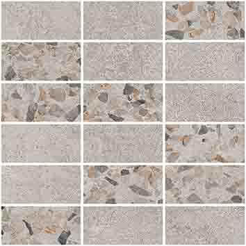 Плитка мозаика Beton-Terrazzo Мозаика K9498938LPR1VTE0 30×30 (5×10)
