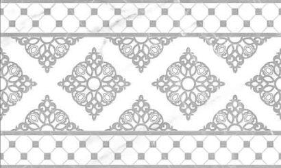 Керамическая плитка Elegance Декор серый 01 30×50