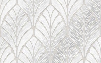 Керамическая плитка Лилит Декор серый 01 25×40
