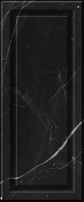 Керамическая плитка Noir Плитка настенная   черная 02 25×60
