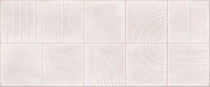 Керамическая плитка Sweety Декор розовый  01 25×60