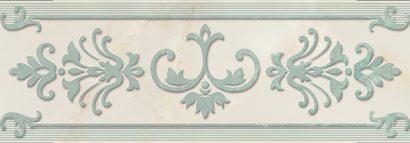 Керамическая плитка Visconti Бордюр синий 02 8