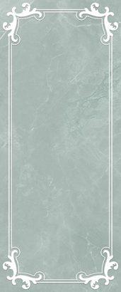 Керамическая плитка Visconti Плитка настенная синий 02 25×60