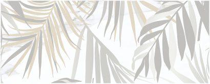 Керамическая плитка Aria Botanica Декор-1 белый 20×50
