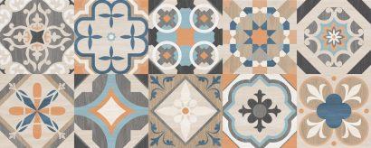 Керамическая плитка Oliver Плитка настенная бежевый мозаика 20×50