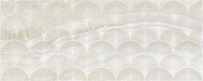 Керамическая плитка Soft Декор бежевый 20×50
