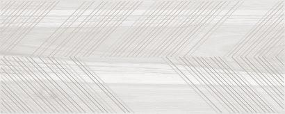 Керамическая плитка Ulivo Декор-1 серый 20×50