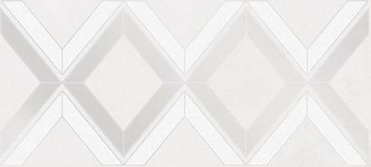 Керамическая плитка Alrami Вставка серая ромбы 15915 20×44