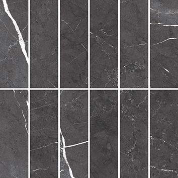 Керамическая плитка Royal Stone Мозаика черный 16041 30×30
